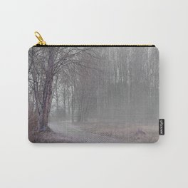 Walk in the Foggy Morning Carry-All Pouch