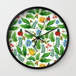 Jungle Wall Clock