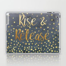 Rise and Release Yoga Meditation Laptop & iPad Skin