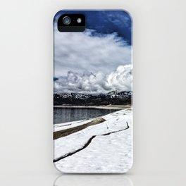 Palisades Reservoir-Idaho iPhone Case