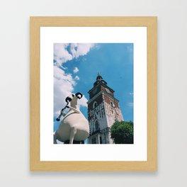 Krakow, Poland Framed Art Print