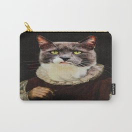 Aristocrati-Cat Carry-All Pouch