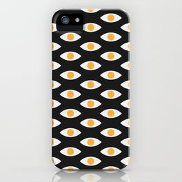 eye pattern iPhone Case