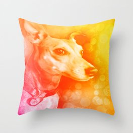Kanga, the brightest light Throw Pillow