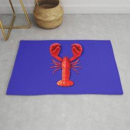 Lobster Punch Rug