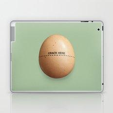 Crack Here Laptop & iPad Skin
