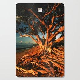 Oceanfront Tree Cutting Board