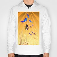 under the sea Hoodies featuring Under The Sea V2 by Robin Curtiss