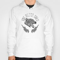 monster hunter Hoodies featuring Monster Hunter All Stars - The Silver Sols by Bleached ink