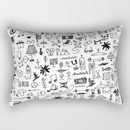 Doodle II Rectangular Pillow