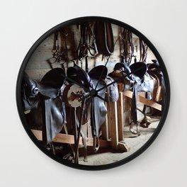 Tack Room Wall Clock