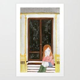 I wish Art Print