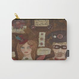 Time Travelers Carry-All Pouch