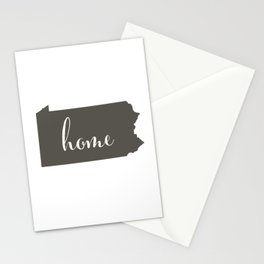 Pennsylvania is Home Stationery Cards