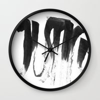 justice league Wall Clocks featuring Justice by Liebe