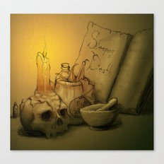 Potion Canvas Print