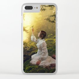 Deep in the Woods Clear iPhone Case