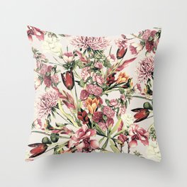 RPE FLORAL XI Throw Pillow