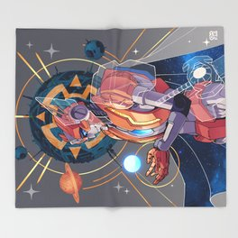 Rung the Primus Throw Blanket