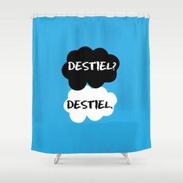 Destiel - TFIOS Shower Curtain
