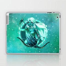 Turquoise Sagittarius Laptop & iPad Skin