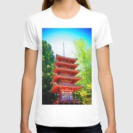 Japanese Pagoda T-shirt