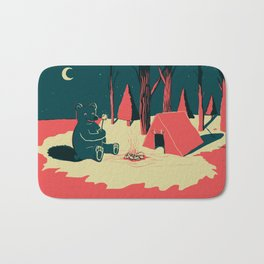 Toasty Bear Campsite Bath Mat
