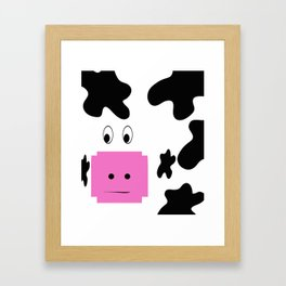 Holy Cow! Framed Art Print