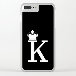 DAME K Clear iPhone Case