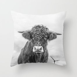 Size Is Relative Throw Pillow