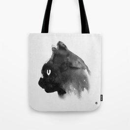 Cat Portrait (Ink Painting) Tote Bag