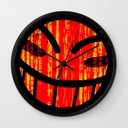 Cowboy Bebop Hacked Smile Wall Clock