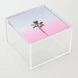 Pink Palm Acrylic Box