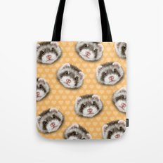 angry ferret Tote Bag