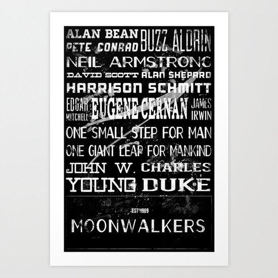 Moonwalkers Art Print