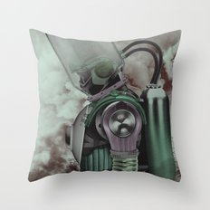The Fallen Hero Throw Pillow