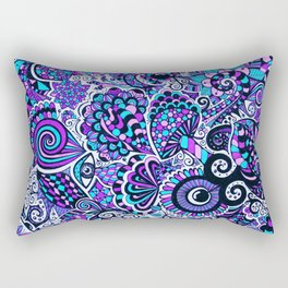 Mushy Madness Rectangular Pillow