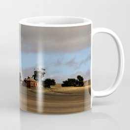 Rural Landscape and Farmhouse in Australia Coffee Mug