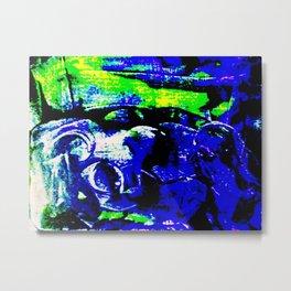Farben-Abstrakt 4 Metal Print