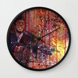 Tony Montana in Scarface Wall Clock