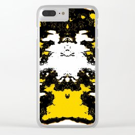 Coconut Margins Clear iPhone Case