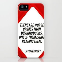 there are worst crimes iPhone Case