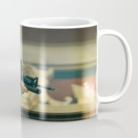 scarface Mugs featuring SCARFACE by I Love Decor