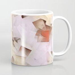 Geometric Stacks Neutrals Coffee Mug