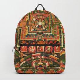 Vairochana Buddha Forest Mandala Tibet Backpack