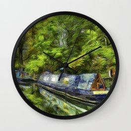 Little Venice London Art Wall Clock
