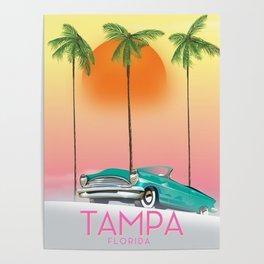 Tampa Florida Travel poster Poster