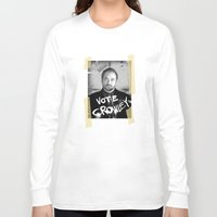 crowley Long Sleeve T-shirts featuring Vote Crowley! by KanaHyde