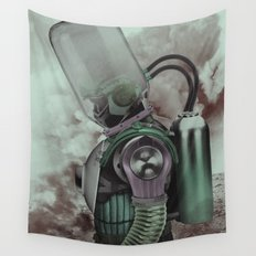 The Fallen Hero Wall Tapestry