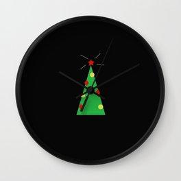 Christmassy, Oh Christmas Tree (Night Before Christmas) Wall Clock